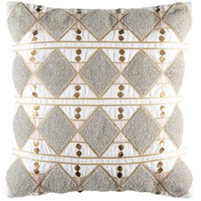 Natural Layla Cotton Cushion