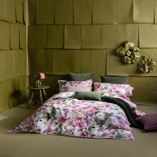 Floral Poeme Linen Blend Quilt Cover Set
