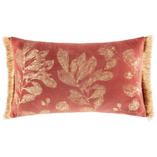 Botanical Rosamund Rectangular Velvet Cushion