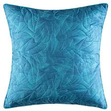Teal Aleora Cotton European Pillowcase