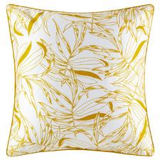 Mustard Carroway Cotton European Pillowcase