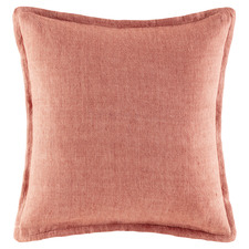 Clay Tailored Linen Cushion
