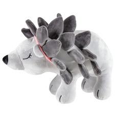 White Porcupine Plush Toy