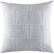 Maxo Blue Euro Pillowcase