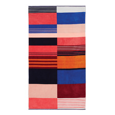 Multi-Coloured Braddon Cotton Beach Towel