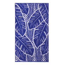 Blue Martinique Cotton Beach Towel