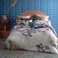 Floral Evie Cotton Sateen Quilt Cover Set