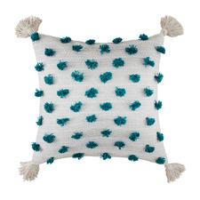 Tasselled Flo Cotton Cushion