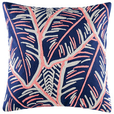 Embroidered Martinique Cotton Cushion