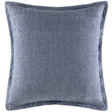 Denim Tailored Linen Cushion