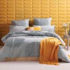 Seafoam Barlow Cotton Quilt Cover Set