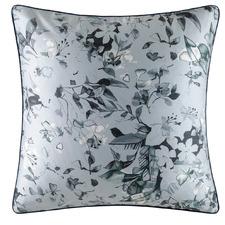 Charcoal Verena Cotton Sateen European Pillowcase