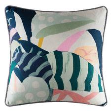 Multi-Coloured Selva Cotton Cushion
