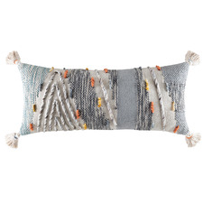 Tasselled Talbot Cotton-Blend Cushion