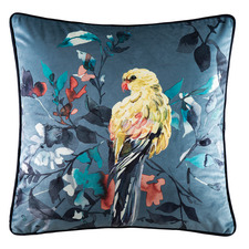 Navy Paramour Velvet Cushion