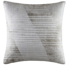 Printed Marble Splice Cotton Cushion