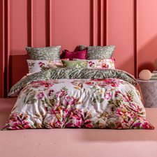 Taneya Cotton Sateen Quilt Cover Set