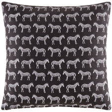Zebra Cotton Cushion