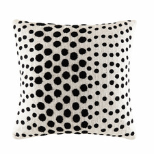 Ivory Spot Cotton Cushion