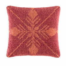 Wine Renilo Cotton Cushion