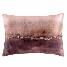 Wine Pearl Cotton Cushion