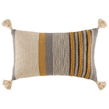Mustard Elton Cotton Cushion