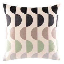 Geo Cotton-Blend Outdoor Cushion