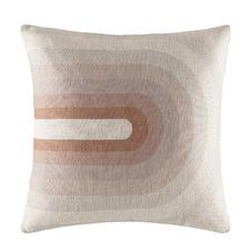 Blush Bower Linen-Blend Cushion