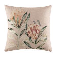 Tarah Linen-Blend Cushion