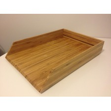 Bamboo Document Tray