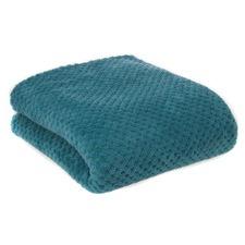 Diamond Turquoise Fleece Blanket