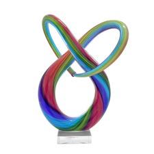 Neutronic Abstract Glass Sculpture