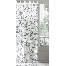 Burn Out Birds Tab Top Curtain Set