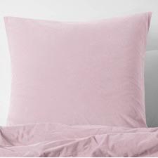 Blush Cotton Velvet Euro Pillowcase