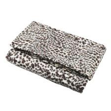 Snow Leopard Faux Fur Snuggie