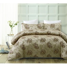 Regal Rose Jacquard Quilt Cover Set