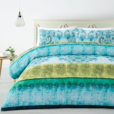 Mehindi Printed Quilt Cover Set