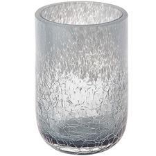 Light Grey Tibor Glass Bathroom Tumbler
