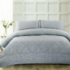 Light Blue Pippa Jacquard Comforter Set