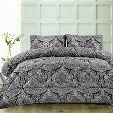 3 Piece Aria Jacquard Comforter Set