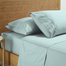Washed Sienna Cotton Sheet Set