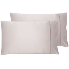Cuffed & Piped Satin Pillowcases (Set of 2)