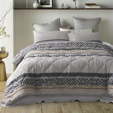 Grey Jardine Comforter Set