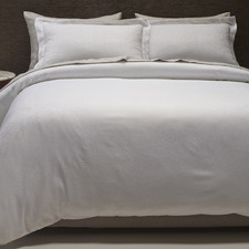 White Hotel Quilt Cover Set