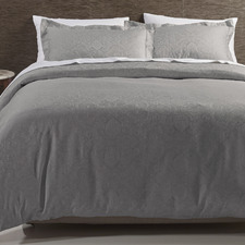 Grey Hotel Quilt Cover Set