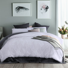 Embroidered Chloe Cotton Quilt Cover Set