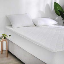Accessorize Cotton Quilted Mattress Protector