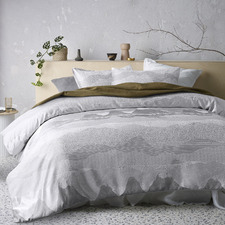 Silver Bulla Quilt Cover Set