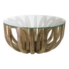 Large Natural Earth Coffee Table