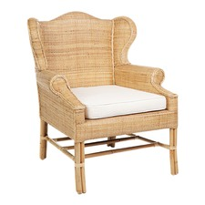Natural Rattan St. Bart's Chair